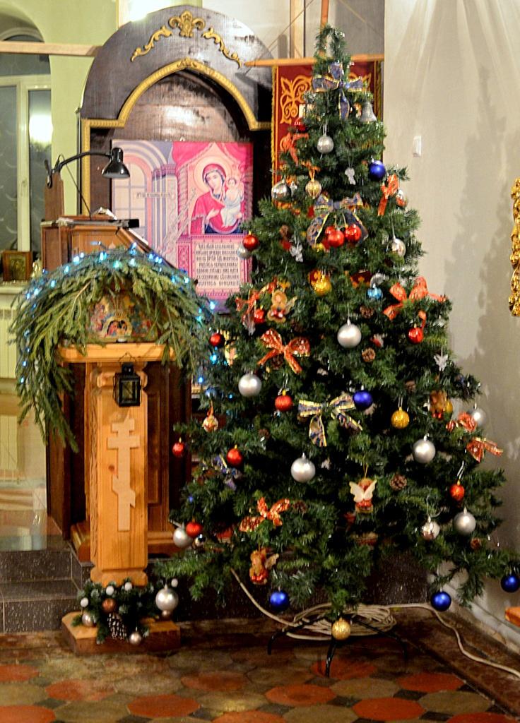 Новолетие и Рождество Христово в Покровском храме села Никульское