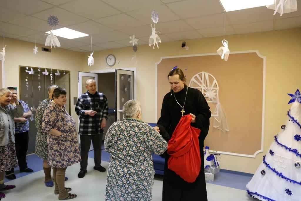 Рождество Христово в Черкизовском психоневрологическом интернате