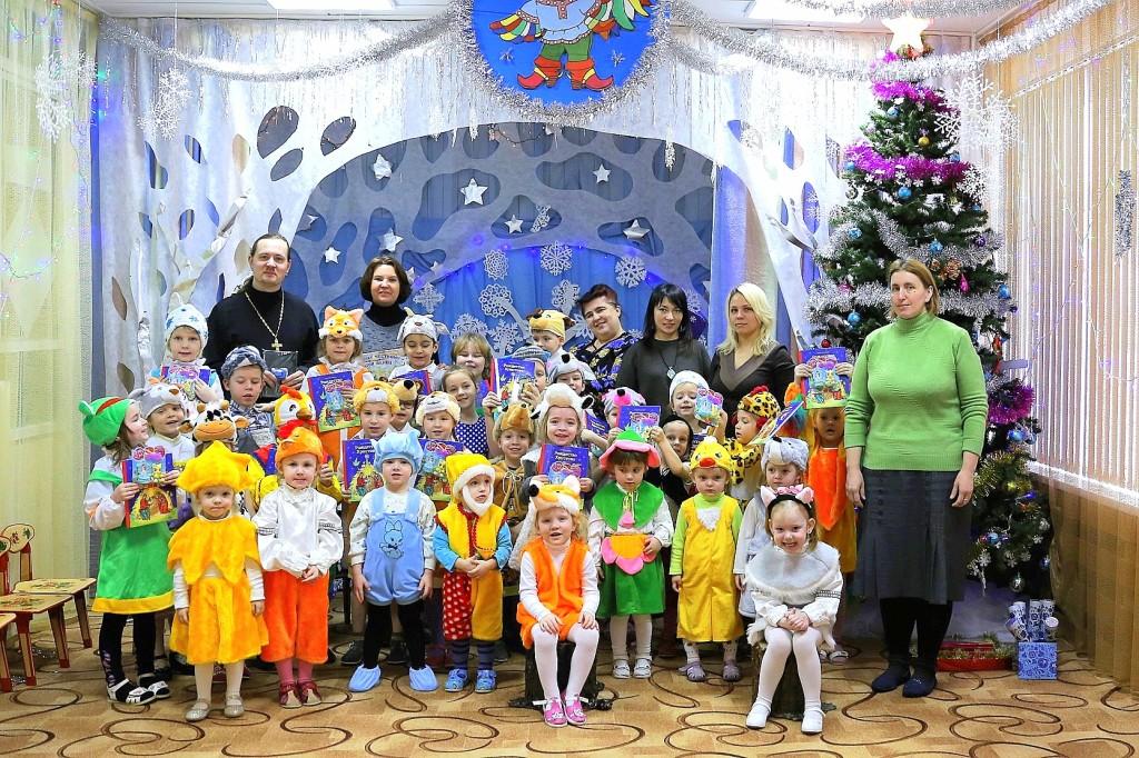 Рождественский утренник в детском саду № 9 «Дружба» села Черкизово
