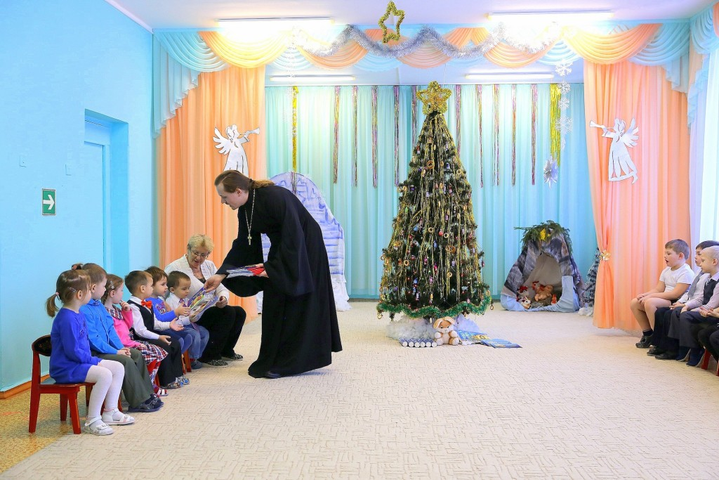 Рождественский утренник в детском саду № 4 «Малинка» села Шеметово