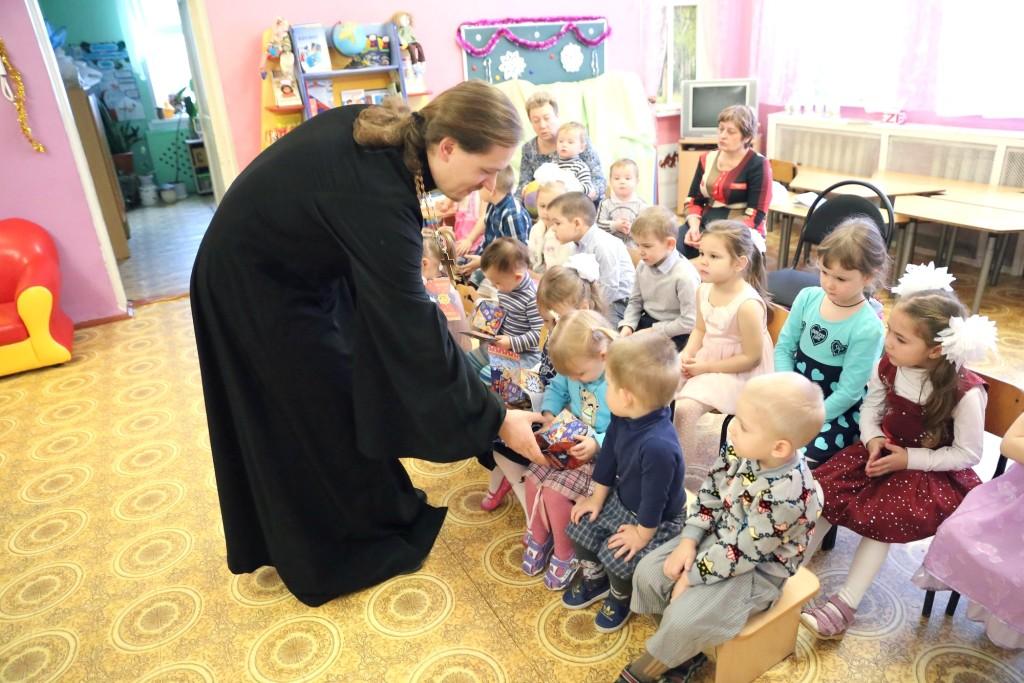 Рождественский утренник в детском саду № 31 «Капелька» поселка Возрождение