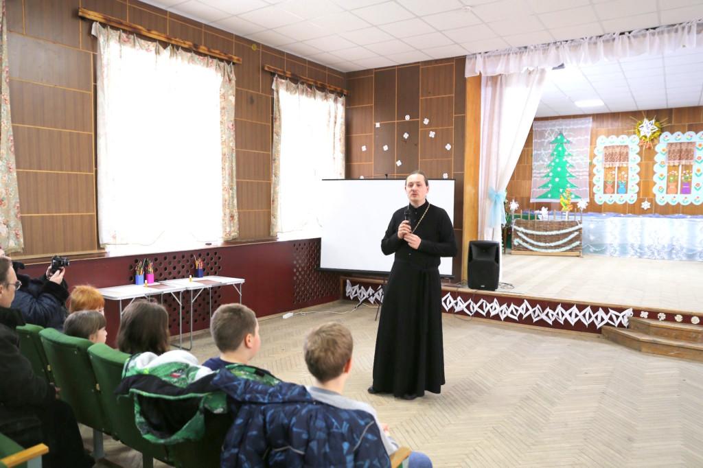 День защитника Отечества в селе Никульское - Покровский храм