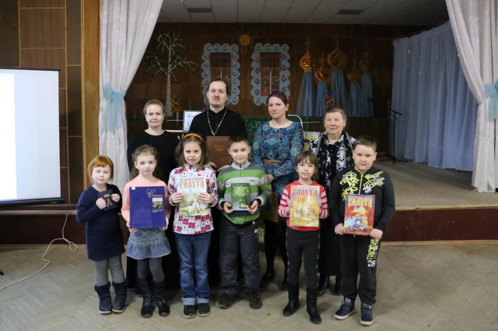 День православной книги в Никульском сельском клубе