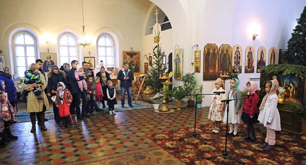 Рождество Христово на приходе Покровского храма села Никульское
